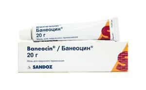 Baneocin ointment,2x 20 g, Sandoz, free shipping worldwide