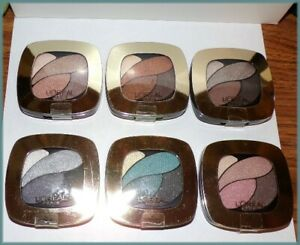L'Oreal Colour Riche Eye Shadow Quad CHOOSE YOUR COLOR ~FREE SHIP + FREE GIFT