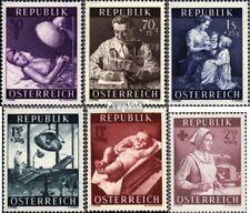 Oostenrijk 999-1004 postfris 1954 Gezondheid