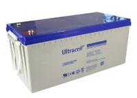 Batterie GEL 200ah 12v Ultracell camping car bateau UCG200-12 sans entretien