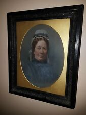 British School, 19th Century Oil, Portrait Of A Lady -  NO RESERVE