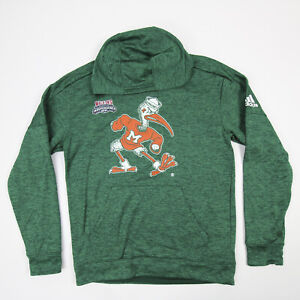 Miami Hurricanes adidas Climawarm Sweatshirt Men's New without Tags
