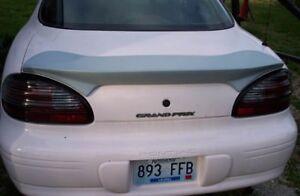 "Fits1997-2003 UNPAINTED Pontiac Grand Prix ""SLP Gen2 Style"" Custom Flush Spoiler"