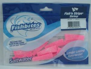 Fishbites 004 Pink Shrimp Fish Strip 15CT 25566