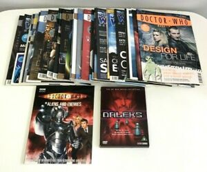 Large Doctor Who Magazine Lot Large Billie Piper Posters X2 DVD Film 2000's