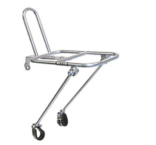 NITTO Front Rack Mount Bicycle Rack Silver M18 DB F/S From JAPAN