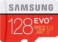 128GB Samsung EVO plus 80MB/s Class 10 UHS-I SDXC MicroSD Karte Speicherkart Adp