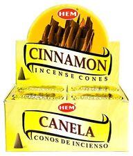 Hem Cinnamon Incense Cones, Bulk Lot 3 Pack of 10 Cones = 30 Total