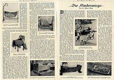Die Kinderwiege * Essay mit historischen Aufnahmen von 1924