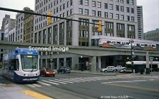 Original Photograph: Detroit M-1 Rail 289 + People Mover @ Grand Circus
