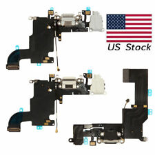 Charging Port Charger Dock Mic Flex Cable For iPhone 5G 5S 5C SE White/Black Lot