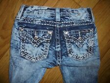 Miss Me ~Signature~Girls~Jeans~Skinny~ Size 8   22 x 26.5