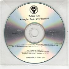 (GJ546) Rufige Kru, Shanghai Dub / Ever Wanted - 2009 DJ CD