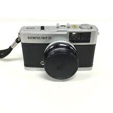 Olympus Trip 35 35mm Point & Shoot Camera Olympus 2.8 40mm Lens #661