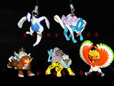 Bandai POKEMON Diamond Pearl strap gashapon figure (full set of 5 strap figures)