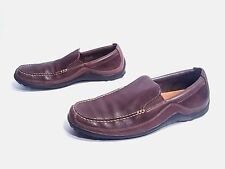 Cole Haan Men's French Roast Leather Tucker Venetian Loafers Vibram Soles 11.5M