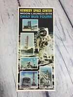 Vintage Kennedy Space Center Travel Brochure Florida Souvenir Paper Advertising
