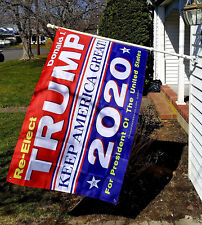 Donald Trump 2020 3x5 ft Flag Keep America Great President USA Patriot UK