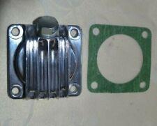 BSA A7 A10 A50 A65 B25 B44 B40WD finned alloy sump plate + magnetic drain bolt