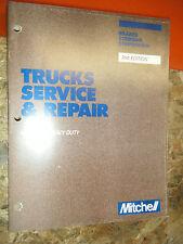 1977-87 MITCHELL MEDIUM HEAVY TRUCK BRAKES STEERING SUSP SERVICE REPAIR MANUAL