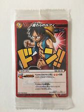 Miracle Battle Carddass One Piece Monkey D. Luffy P OP 02 New