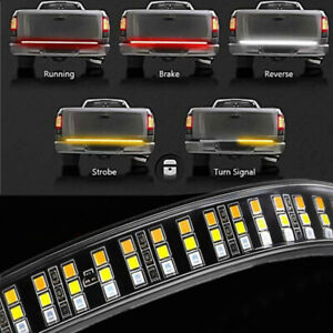 """60"""" Tailgate LED Strip Bar Truck Stop Brake Turn Signal Tail Light For Ford F150"""