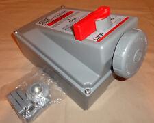 Hubbell HBL430MI7W Mechanical Interlock Pin&Sleeve Circuit-Lock 30A 3P4W NEW