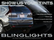 Tinted Taillamps Film Overlays Covers for Honda CR-V ( All Model Years )