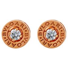 Bvlgari Bulgari Bulgari pink gold earrings with 2x0 20 ct diam 347981