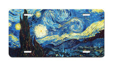 Van Gogh Starry Night Art License Plate Auto Truck Car Tag Gift