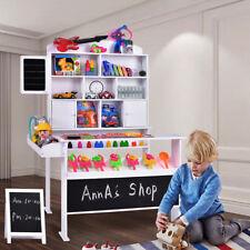 Kinder Kaufladen Kaufmannsladen Kinderkaufladen mit Tafel und Kundenstopper