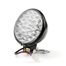 """Motorcycle Headlight 5"""" Head Lamp For Hy Bobber Chopper Touring BLK/WHI CA"""