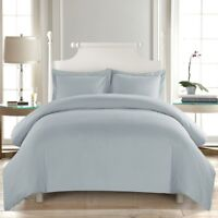 Soft Duvet Cover Comfort 1800 Count Microfiber 3 Piece Deep pocket Bed Sheet Set