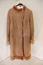Elegant ladies' lamb-shearling coat