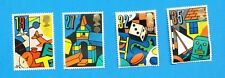 GREAT BRITAIN - Scott 1256-1259 - VFMNH - Toys, EUROPA -- 1989