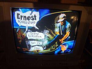 "Vintage Magnavox 19MDTR20/17 19"" CRT TV/DVD/VCR Combo Retro Video Gaming (READ)"