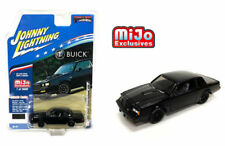 JOHNNY LIGHTNING 1987 BUICK GRAND NATIONAL GNX 1/64 DIECAST BLACK JLCP7178