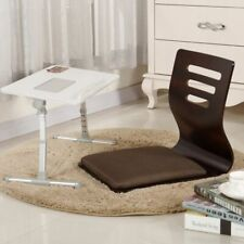 Floor Wooden Fabric Chair Japanese Leisure Seat For Living Room 2 Pcs/Set Decors