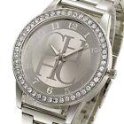 Fashion Women Stainless Steel Crystal Dial Quartz Analog Luxury Wrist Watch