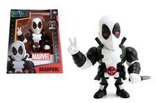 """Marvel 4"""" Jada Diecast Metals Figure Variant White DEADPOOL RYAN REYNOLDS M54"""