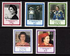 ZES 1987 Seychelles Postage Stamps Overprinted  Queen Elizabeth