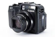 Canon PowerShot G11 10.0MP Digital Black Camera w/Box From Japan