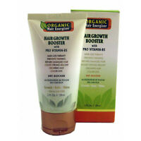 Organic Hair Energizer Hair Growth Booster, 6 oz - Pro Vitamin-B5, DHT-Blocker