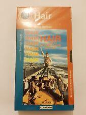 HAIR pelicula VHS en español Nueva y Sellada de fabrica