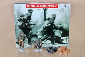 KING & COUNTRY BBA032 BATTLE of the BULGE AMERICAN ARTILLERY ADD ON SET nu