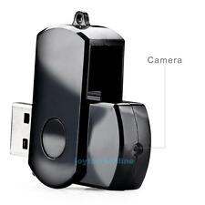 Mini Rotating USB 2.0 DV Flash Drive HD Digital Video Hidden Camera Camcorder