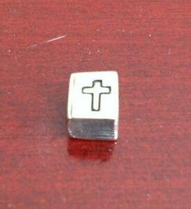 PANDORA S 925 ALE STERLING SILVER BIBLE CROSS CHARM