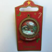 DLR - Holiday Snowglobe - Lilo & Stitch Scrump LE 1000 Disney Pin 58577