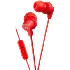 JVC HAFR15/RED Superior Colourful In-Ear Headphones with Remote & Mic - Red