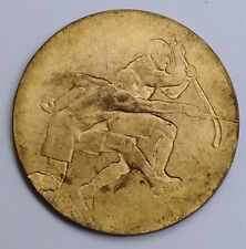Congo Katanga medal médaille Federum Union Minière UMHK mines hockey Sengier1957